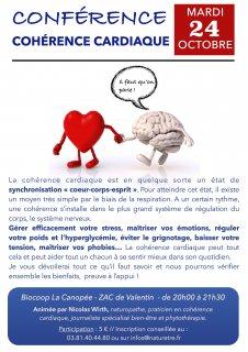 Conférence cohérence cardiaque